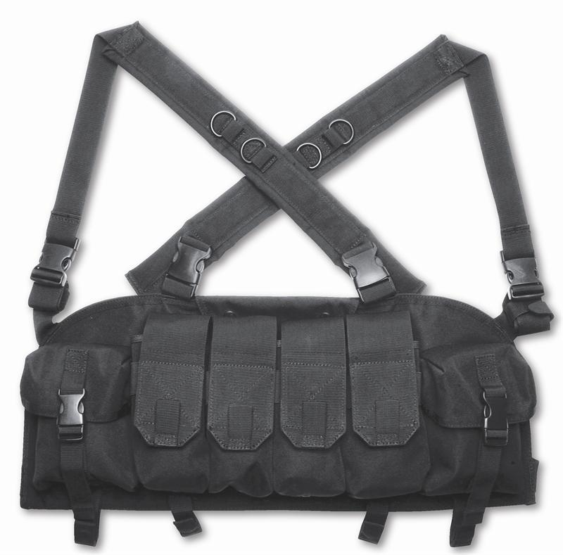 knife chest harness